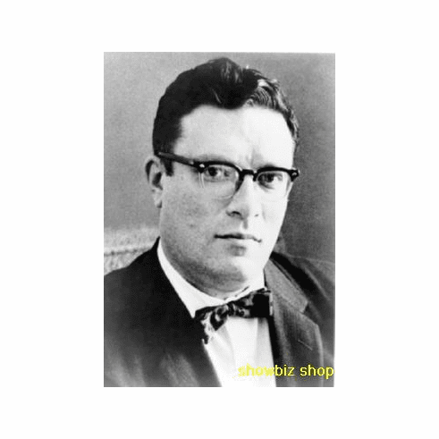 Isaac Asimov Poster Portrait 24inx36in