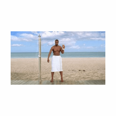 Isaiah Mustafa Poster Old Spice Towel, Beach Sexy 24in x36 in