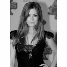 """Isla Fisher Black and White Poster 24""""x36"""""""