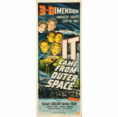 It Came From Outerspace Movie Poster Insert 14x36