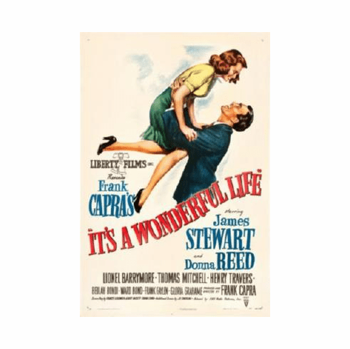 It'S A Wonderful Life Movie Poster 24inx36in Poster Art