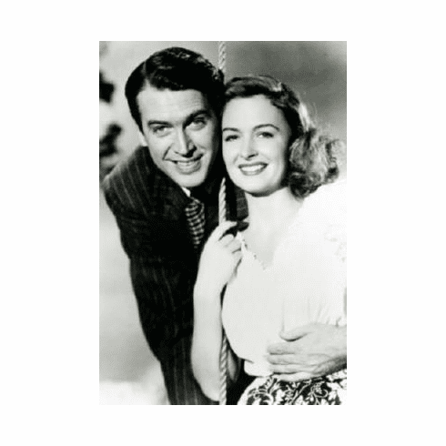 Its A Wonderful Life Movie Poster 24inx36in Actor Portrait