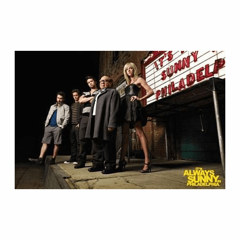 Its Always Sunny In Philadelphia Poster Marquee 11x17 Mini Poster