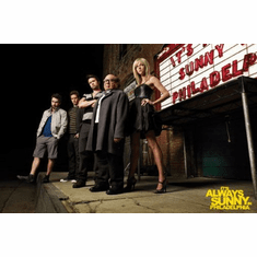 Its Always Sunny In Philadelphia Poster Marquee 24inx36in