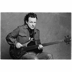 """Jack Bruce Black and White Poster 24""""x36"""""""