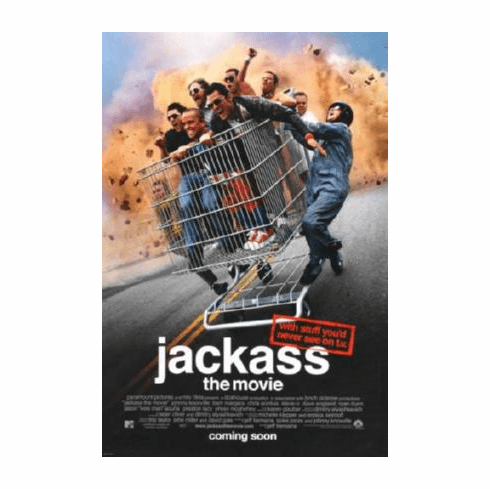 Jackass The Movie Poster 24inx36in