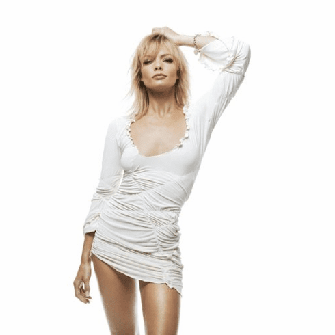 Jaime Pressly Poster White Minidress 24inx36in