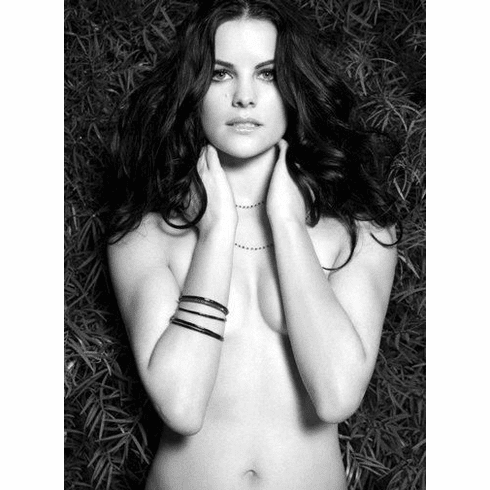 """Jaimie Alexander Black and White Poster 24""""x36"""""""