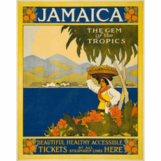 Jamaica Poster 24in x36in