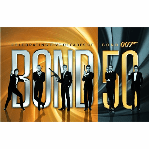 James Bond 50Th Anniversary Movie Poster 24Inx36In Poster