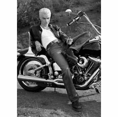 """James Marsters Black and White Poster 24""""x36"""""""