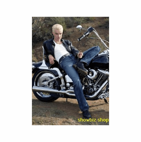 James Marsters Poster Sexy Chopper 24inx36in