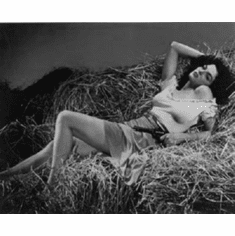 "Jane Russell Black and White Poster 24""x36"""
