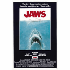 Jaws Movie Poster 24inx36in