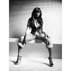 "Jazmine Sullivan Black and White Poster 24""x36"""
