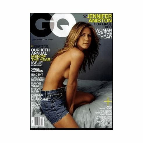 Jennifer Aniston Poster Gq Cover 24in x36 in