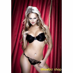 Jennifer Ellison Poster Black Lingerie 24inx36in