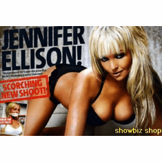Jennifer Ellison Poster Photo Shoot Promo 24inx36in