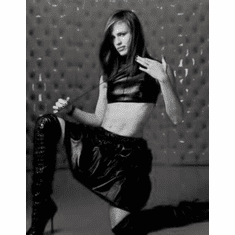 "Jennifer Garner Black and White Poster 24""x36"""