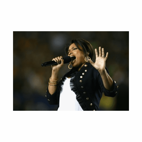Jennifer Hudson Poster 24x36 singing
