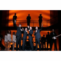 Jersey Boys Performing 8x10 photo Master Print