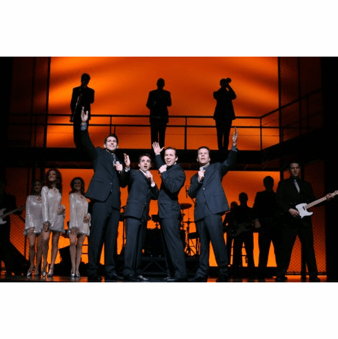 Jersey Boys Performing Poster 24inx36in