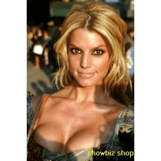 Jessica Simpson Poster Glam Bustier 24inx36in