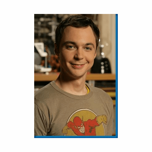 Jim Parsons Sheldon Big Bang Theory Poster 24inx36in