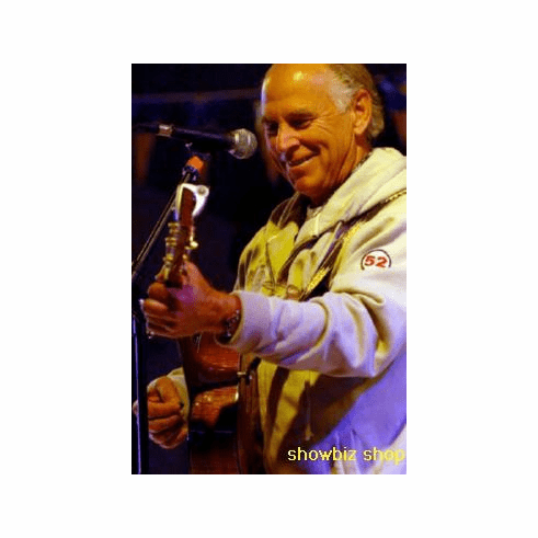 Jimmy Buffett Poster Performing 24inx36in