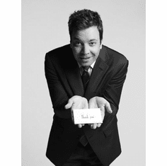 "Jimmy Fallon Black and White Poster 24""x36"""