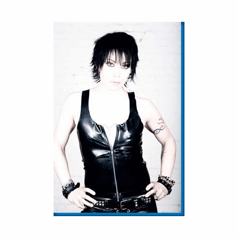 Joan Jett In Leather Poster 24inx36in