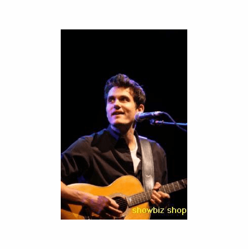 John Mayer Poster Guitar On Stage 24inx36in