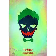 Joker Suicide Squad Icon Mini Poster 11x17