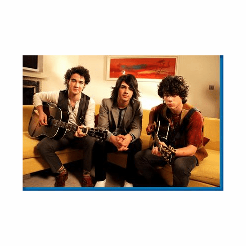 Jonas Brothers Couch Poster 24inx36in