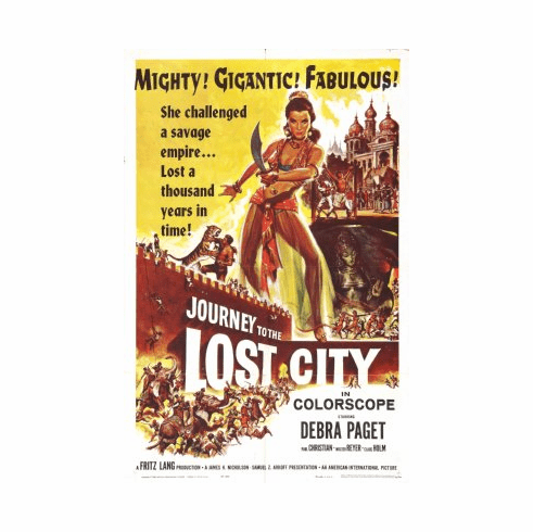 Journey To Lost City Movie Poster 24x36