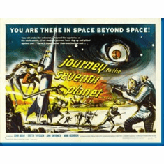 Journey To The Seventh Planet Movie 8x10 photo Master Print