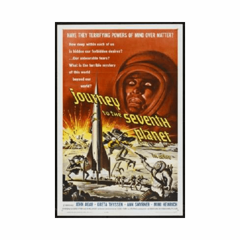 Journey To The Seventh Planet Poster 24inx36in
