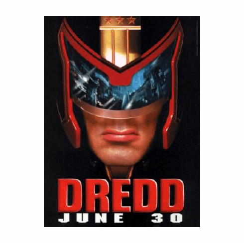 Judge Dredd Movie Poster 24inx36in
