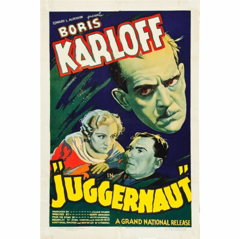 Juggarnaut Movie Poster 24inx36in