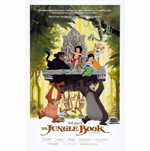 Jungle Book The Movie Poster 24inx36in