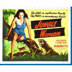 Junglewoman Movie 8x10 photo Master Print