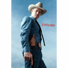 Justified Poster 24inx36in