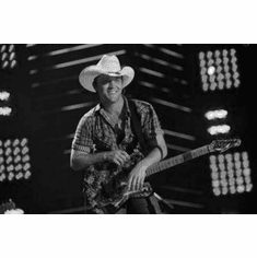 """Justin Moore Black and White Poster 24""""x36"""""""