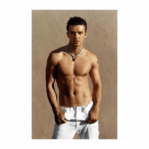 Justin Timberlake Poster #A01 Shirtless 24inx36in