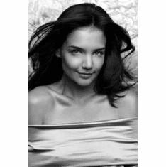 "Katie Holmes Black and White Poster 24""x36"""
