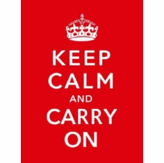 Keep Calm Carry On British War 8x10 photo Master Print