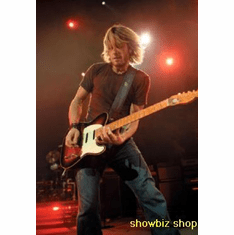 Keith Urban Poster On Stage Guitar 24inx36in