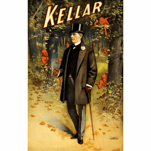 Kellar Magic Poster #02 24inx36in