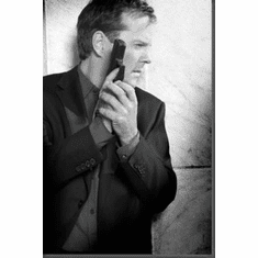 """Kiefer Sutherland Black and White Poster 24""""x36"""""""