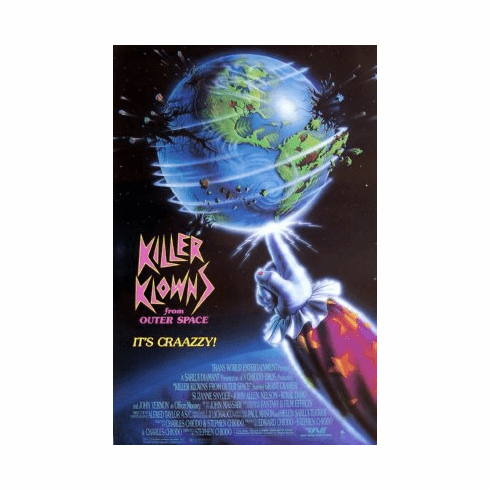 Killer Klowns From Outer Space Mini Poster 11x17in